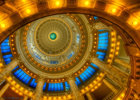Idaho State Capitol Dome 2