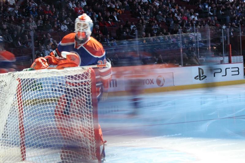 Canucks Vs Oilers Nov. 28th 2009
