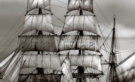 Sails of the Barque Europa