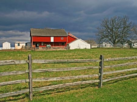 Storm Clouds Over Gettysburg