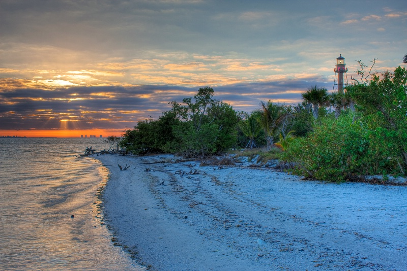 Sanibel Lighthouse Sunrise - ID: 9720371 © Michael Wehrman