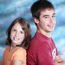 Children - Brother and sister