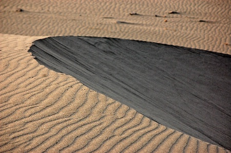 Wind's footprints