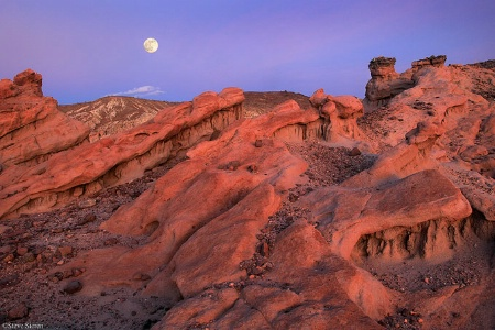 California Moonscape