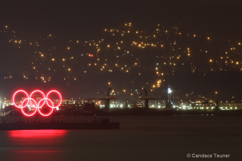 the famous Olympic rings