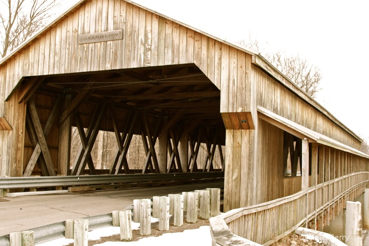Lockport Ohio Covered bridge