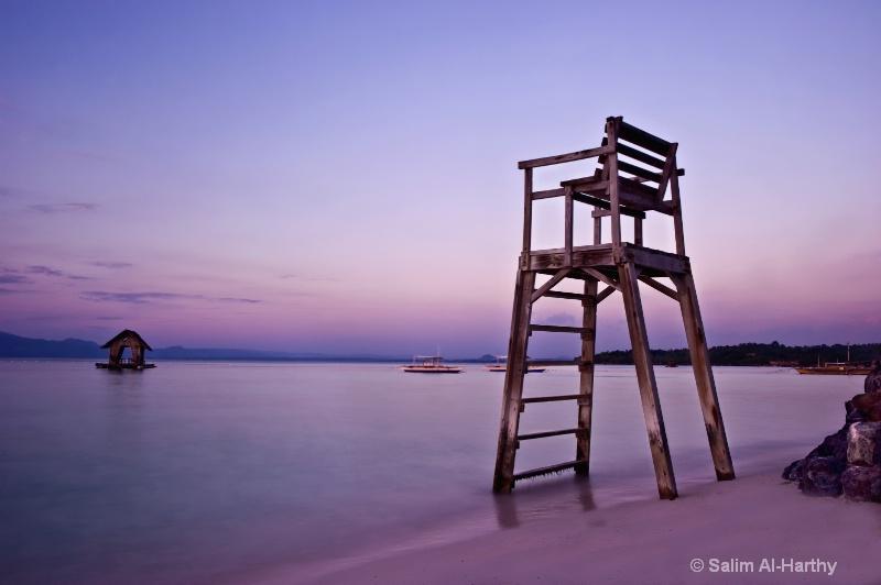 Philippines - Pink Sunset at Panglao Island