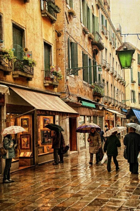 Shopping in the Rain 2