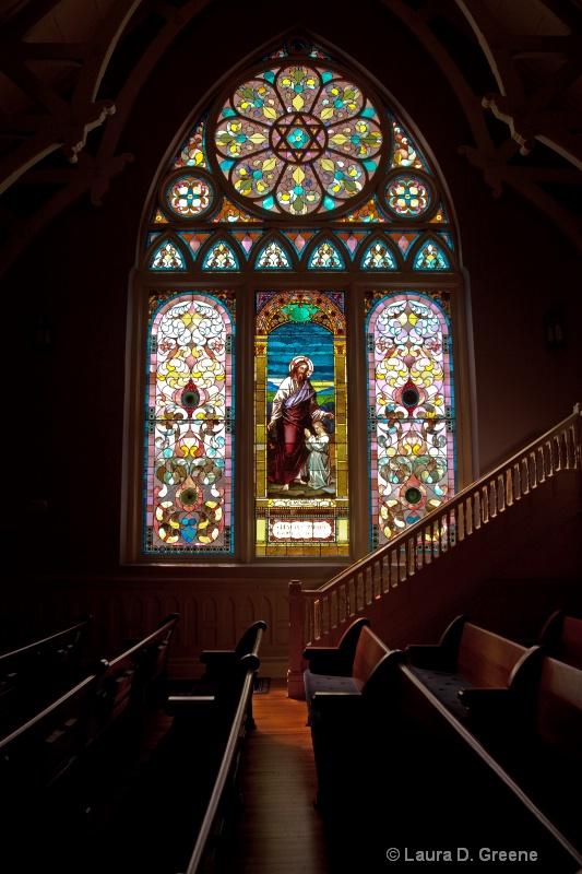 Window Lit Sanctuary