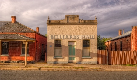 Chiltern Billiard Hall.