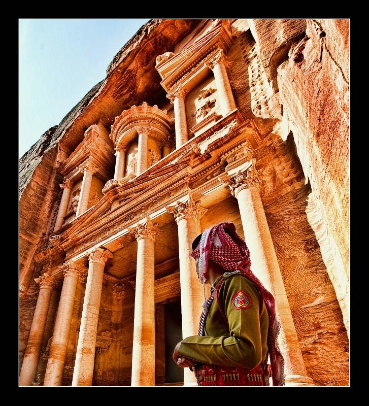Jordan - Petra - Al-Khazneh (The Treasury)