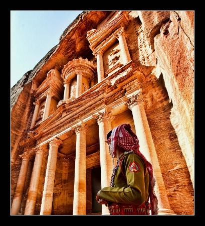 Jordan - Petra - Al-Khazneh (The Treasury)