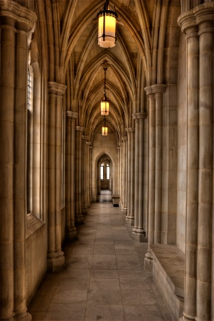 Observation Gallery, National Cathedral