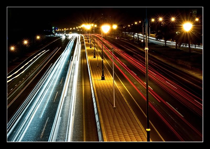 Oman - Muscat Light Trails