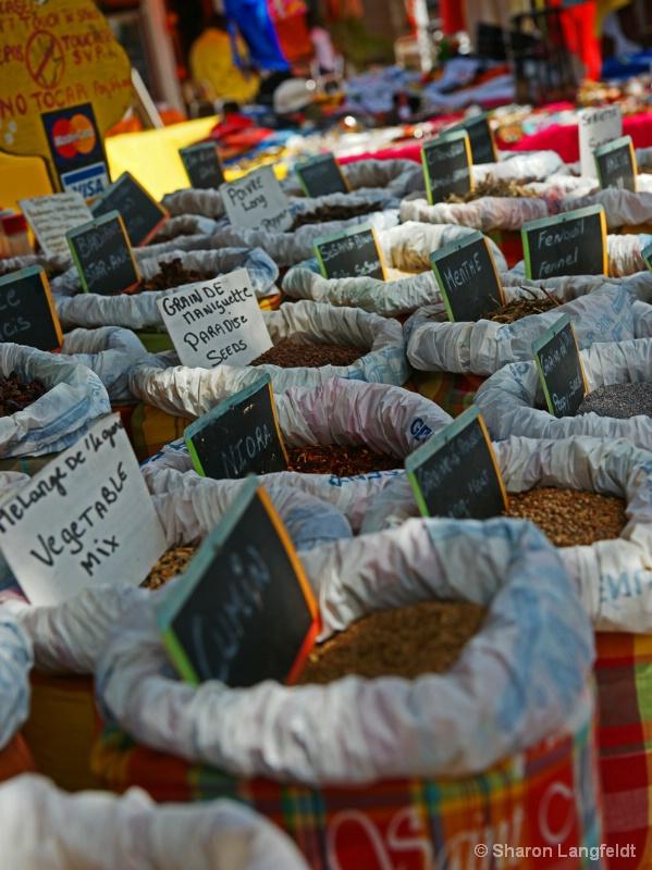Spices... - ID: 9883692 © Sharon L. Langfeldt