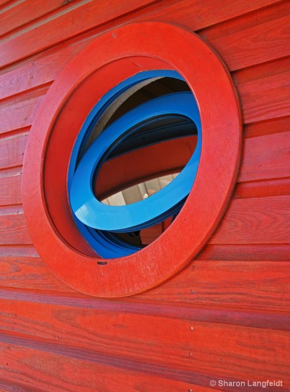 St Martin Port Window - ID: 9895942 © Sharon L. Langfeldt