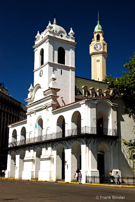 Cabildo; Buenos Aires - ID: 9913708 © Frank Binder