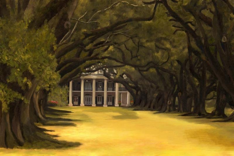 Oak Alley Painted v2