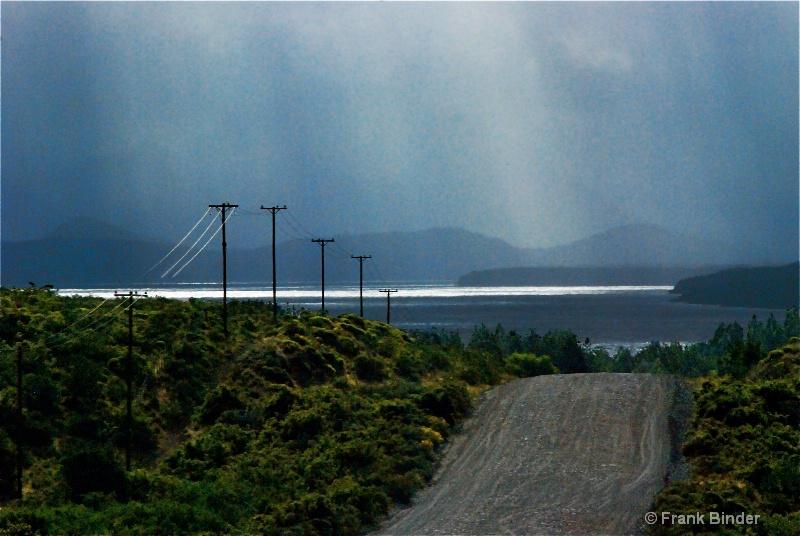 Rain on Lago Nahuel Huapi - ID: 9933631 © Frank Binder