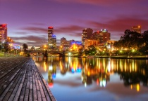 Photography Contest Grand Prize Winner - April 2010: Melbourne Lights on the Yarra River