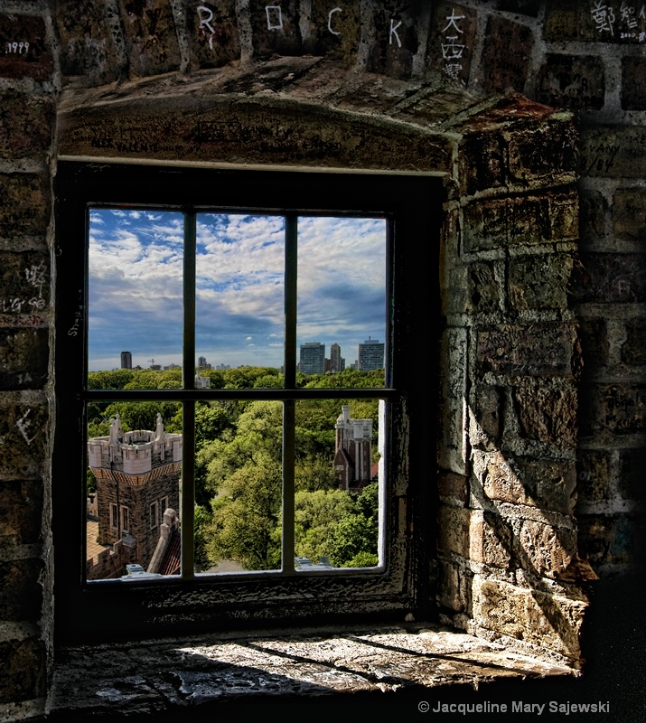 Rapunzels View/Looking Out of Casa Loma Turret