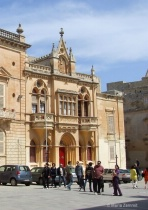 Gothic Architecture in Mdina's Cathedral Squar