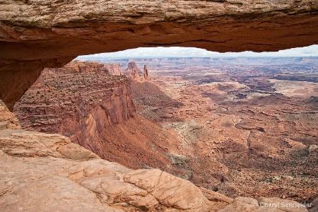 Through Mesa Arch