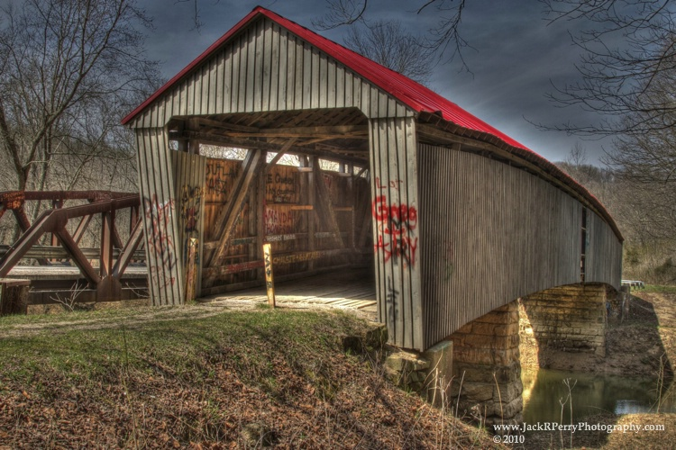 Geer Mill/Humpback/Ponn Covered Bridge