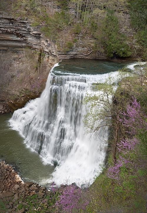 Burgess Falls, White Co., TN - ID: 10049434 © george w. sharpton