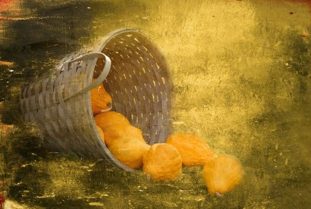Over flowing basket