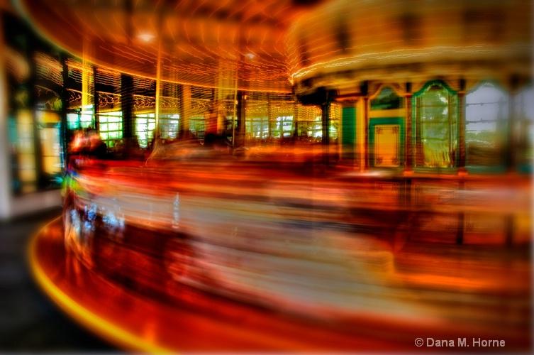 The Colorful Carousel - ID: 10061352 © Dana M. Scott
