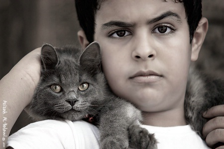 Who is the cat? :D