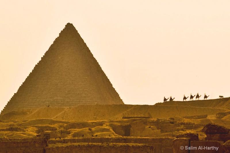 Egypt - The Pyramid of Giza