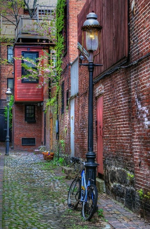 Beacon Hill Back Alley