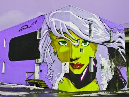 Montreal Graffiti - Color Tweaked