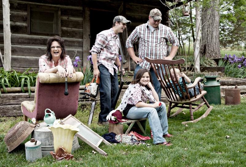 Ahhh, the joy of family!