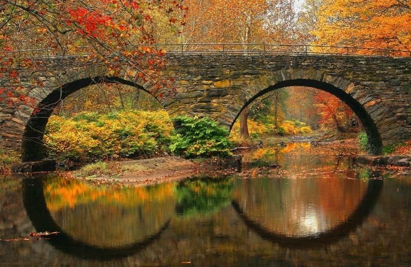 Stone Arch Reflections - ID: 10091296 © Joseph T. Pilonero