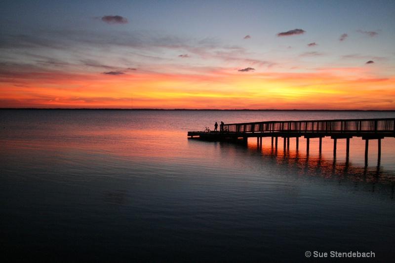 Summer's Evening, Albermarle Sound, Duck, NC - ID: 10106458 © Sue P. Stendebach