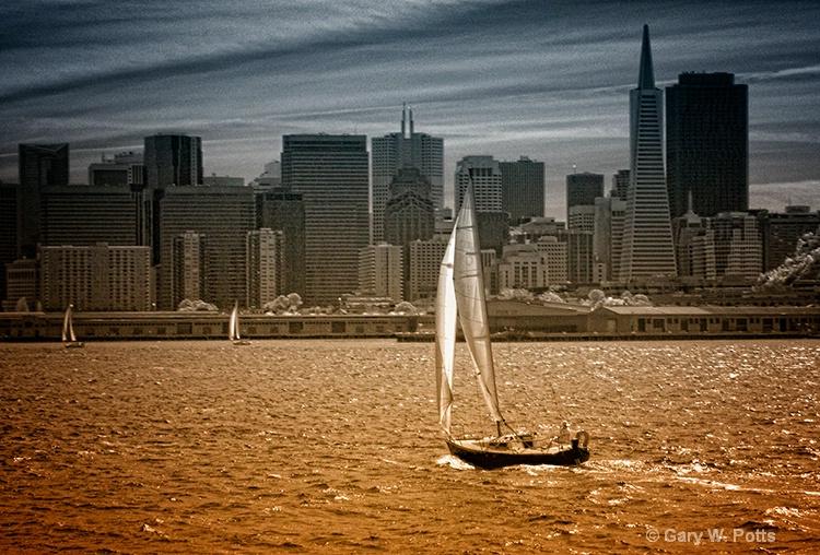 Bay sail--San Francisco - ID: 10121636 © Gary W. Potts