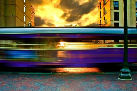Memphis Sunset Trolley