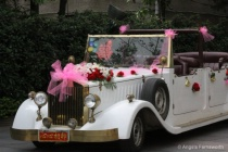 Vintage car for chinese wedding