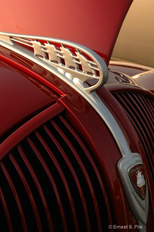 Classic Car Hood Ornament - ID: 10195303 © Ernest S. Pile