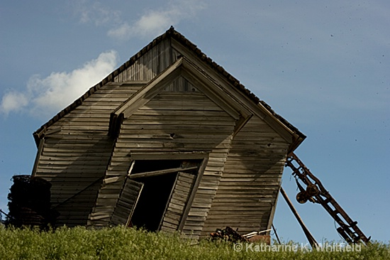 Palouse Barn - ID: 10211183 © Kathy K. Whitfield