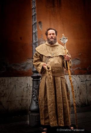 Beggar near Vatican