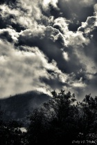 Dramatic Sky Over Whiskeytown Reservoir