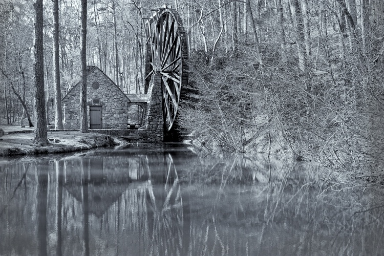 The Old Mill at Berry College(1930), Rome GA - ID: 10226505 © george w. sharpton
