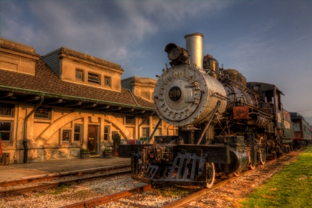 French Lick Station