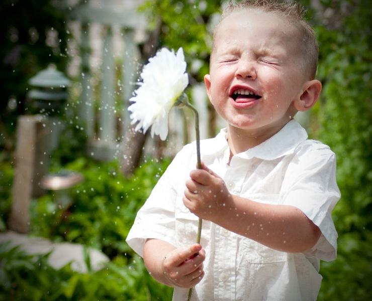 Splashing Flower