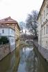 Canal in Prague