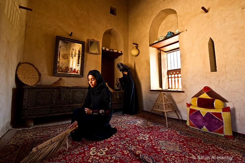 Oman - Traditional Omani Living Room